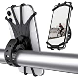 ORIbox Bike Phone Mount, Universal Motorcycle Handlebar Mount, 360° Rotation Silicone Bicycle Phone Holder, Compatible…