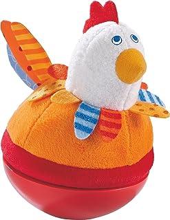 Haba 302570–stehauf figura pollo, Giocattolo per bambini