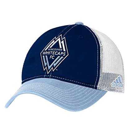 82d65859a04b2 Vancouver Whitecaps Adidas MLS  quot Team Performance quot  Slouch Adjustable  Hat