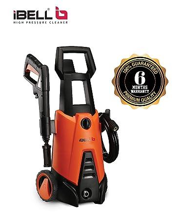 iBELL Wind 66 Universal Motor 1400-Watt Home and Car Pressure Washer (Black & Orange)