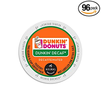 Dunkin Donuts Decaf Coffee KCups Amazoncom Grocery Gourmet Food