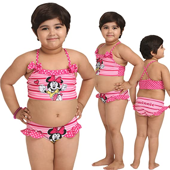 2e9e7b202c Fascinating Lingerie Womens Swim Separates (Flplkgmcccphtps001_5-6 Years  _Multi Coloured _5-6 Years