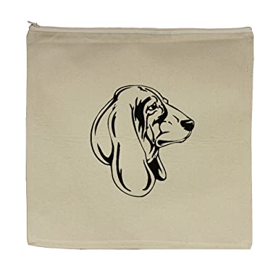 "Canvas Zipper Pouch Tote Bag 5.5""X7.5"" London Bridge Style In Print"