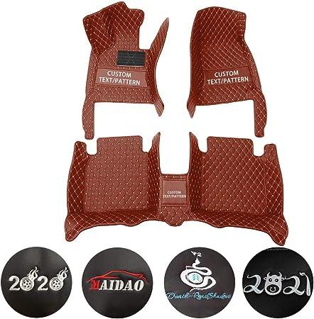 Maidao Benutzerdefiniert Auto Fußmatten Für Bmw X3 E83 2006 2010 Kann Für 99 Der Automodelle Angepasst Muster Oder Logo Sein Allwetter Fußmatten Automatten Braun Auto