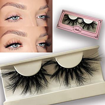 ad3cc33da81 Mikiwi Lashes E02K, 25mm mink lashes, 3D mink lashes, 3D Mink eyelashes,