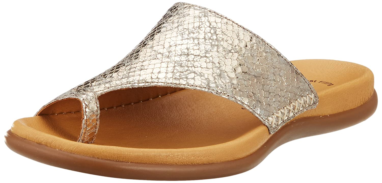 Gabor Shoes Gabor Jollys, Mules para Mujer 41 EU|Beige (Kiesel)