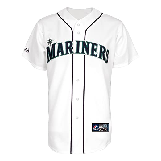 cheap for discount 2f3a1 7cd9a Amazon.com : MLB Men's Seattle Mariners Michael Pineda White ...