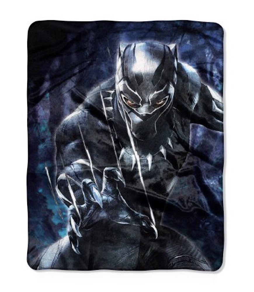 Marvel Black Panther Plush Throw Blanket - 40'' x 50''