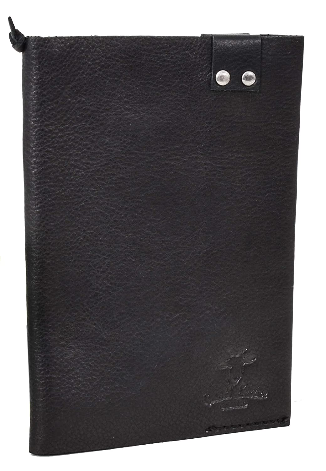 Gusti Leather Studio Gaston Leather A6 envelope Protective Sleeve Leather Card Case Leather Leather Passport Cover 2P43 Black/9 Gusti Leder 2P43-22-9