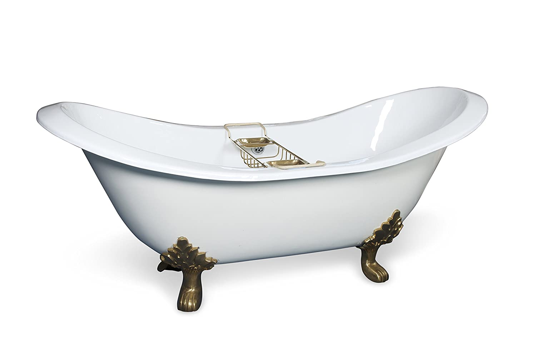 Cast Iron Bateau Bath TRTC