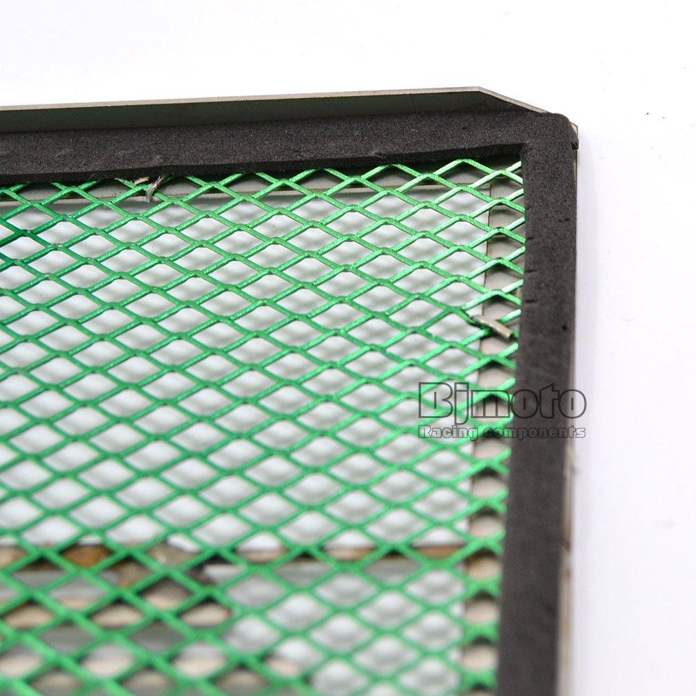 BJ Global Grille de protection de radiateur en acier inoxydable pour Kawasaki Versys 650/2015/2016