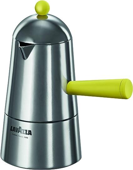 Ilsa Lavazza Carmencita Pop - Cafetera de inducción de Aluminio, Color Amarillo, 2/3/6 Tazas: Amazon.es: Hogar