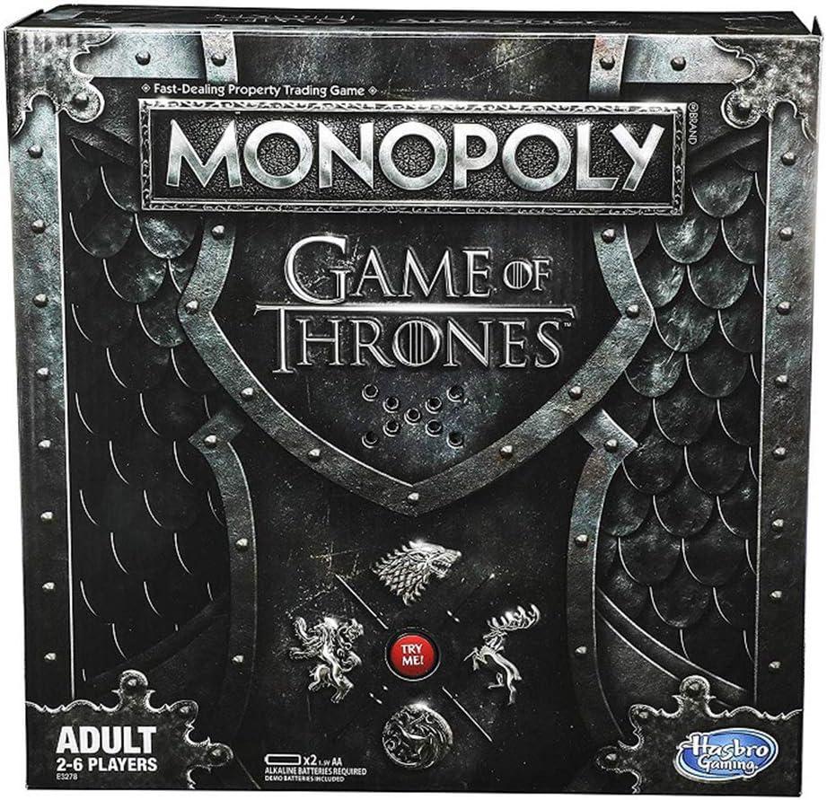 FACAI Juego De Tronos Tarjeta De La Tabla De Mesa Monopoly Juego Jon Daenerys: Amazon.es: Deportes y aire libre