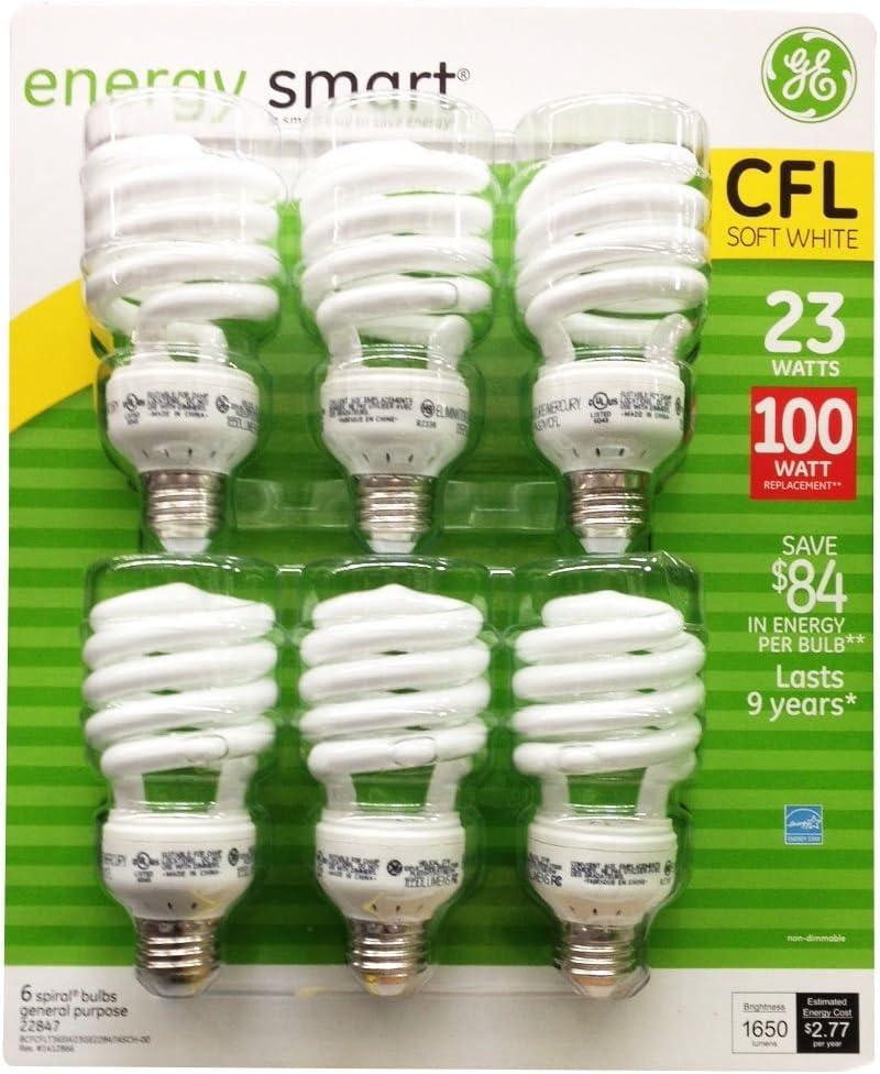 GE 23 Watt Energy Smart CFL - 100 Watt Replacement (pack of 12) (12 PACK)