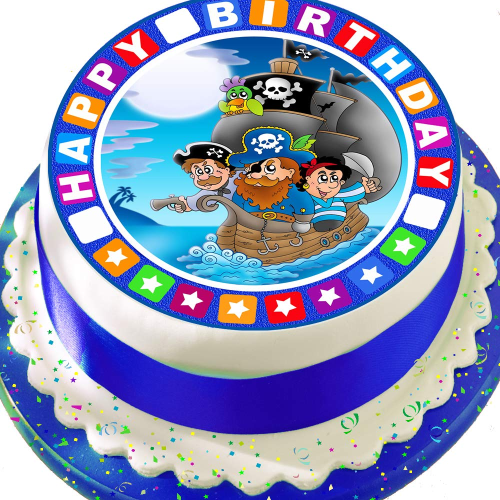 """FROZEN ELSA PERSONALISED 7.5/"""" ROUND EDIBLE PRINTED CAKE TOPPER"""