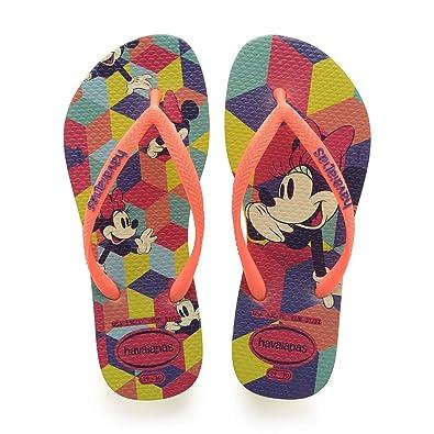 39fc12aab Havaianas Girls  Slim Disney Cool Flip Flops