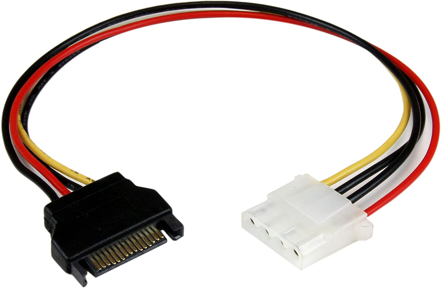 Convert ATX to SATA! 6 ATX Molex Power to Dual SATA Power Adapter w//Updated Latching System