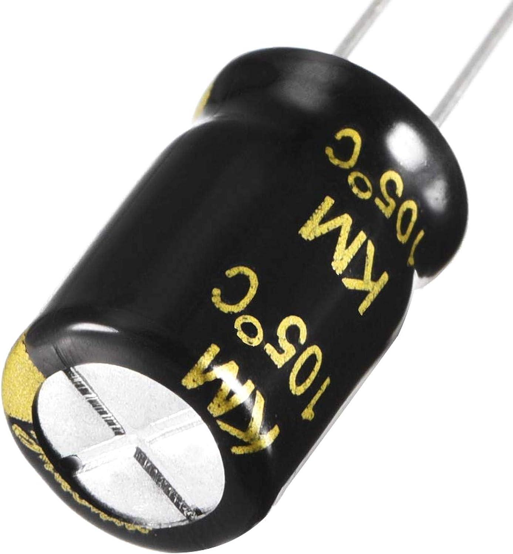 LNIEGE 10PCS Aluminium condensateur Radial condensateur /électrolytique Plomb Radial