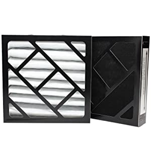 2-Pack Replacement 911D filter for Bionaire - Compatible with Bionaire W7, Bionaire 911D, Bionaire C22, Bionaire W6, Bionaire W6S, Bionaire W9, Bionaire W9S, Bionaire W0310, Bionaire C33, Bionaire W2, Bionaire W2S, Bionaire W9H, Bionaire W25, Bionaire W0210, Bionaire W0210S