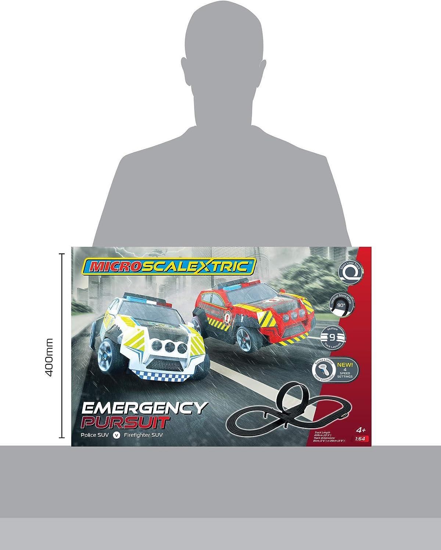 Scalextric G1132P Emergency Pursuit Canne de Voiture Noir