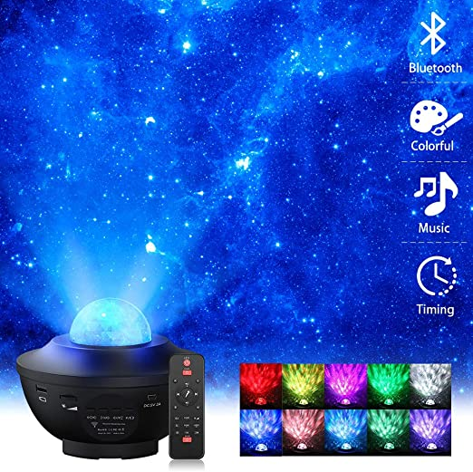 USB Sternenhimmel Projektionslampe Projektor Lampe Fernbedienung Beleuchtung DE