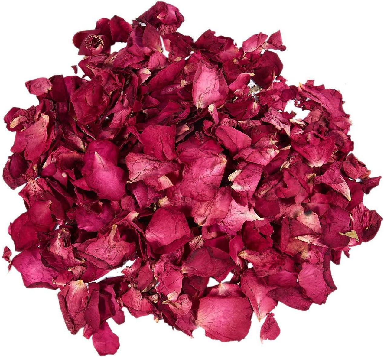 DaysAgo Un Sac denviron 25 g de petales de Rose seches