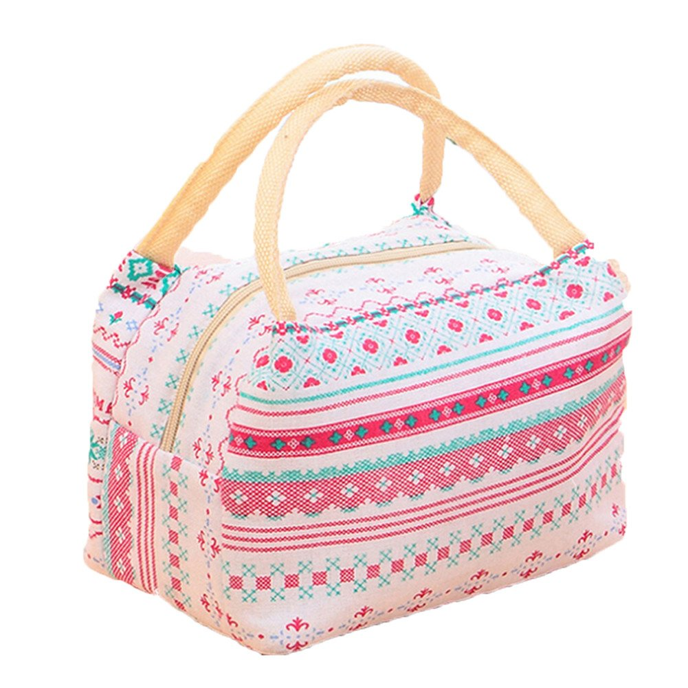 Lalang Thermal Insulated Lunch Bag Women Lunch Box Tote Cooler Bag (bear) 88_Store