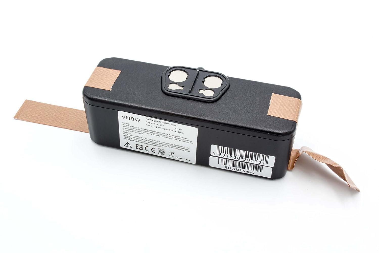vhbw Batería li-on 2000mAh (14.4V) para aspiradora iRobot Roomba 611 ...
