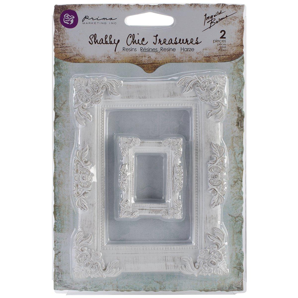 Amazon.com - Prima Marketing Shabby Chic Treasures Resin, Baroque ...