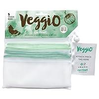 Carrinet Veggio wiederverwendbare Beutel für Obst und Gemüse–5Stück