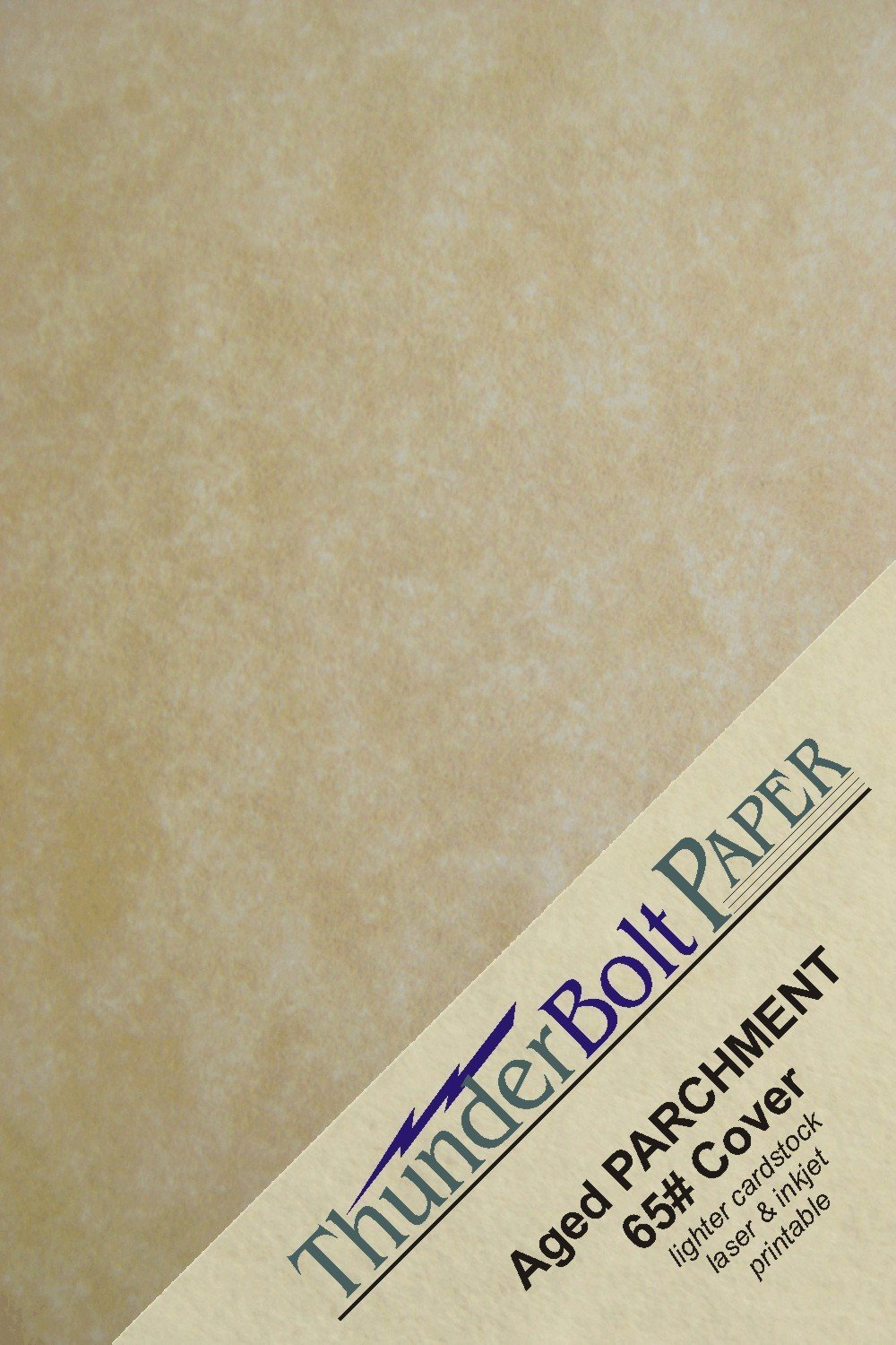 Gold color cardstock paper 5x7 - 100 Old Age Parchment 65lb Cover Weight Paper 5 X 7 5x7