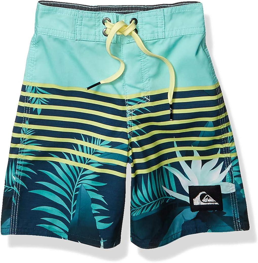 Quiksilver Boys Little Everyday Lightning 14 Boardshort Swim Trunk