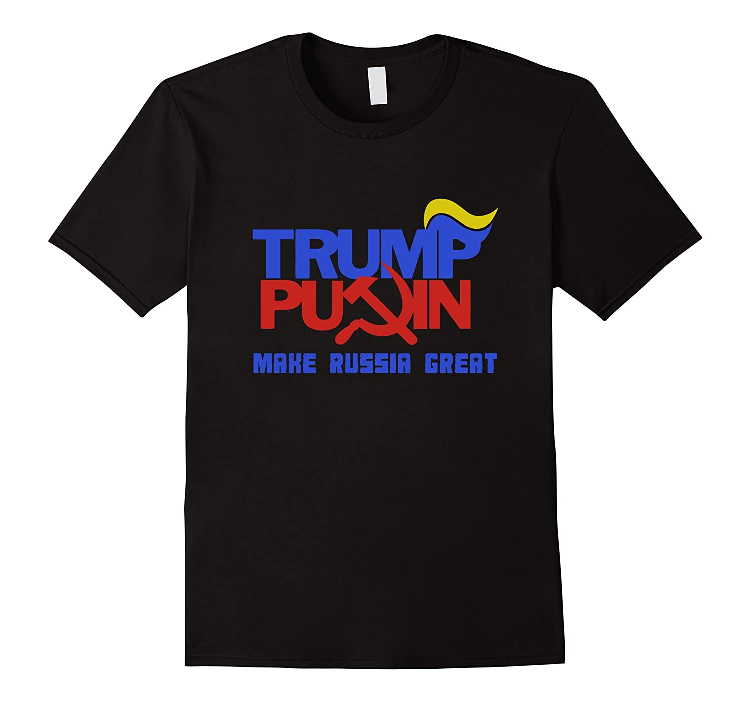 Trump Putin 2016 Make Russia Great Again T-Shirt-CD