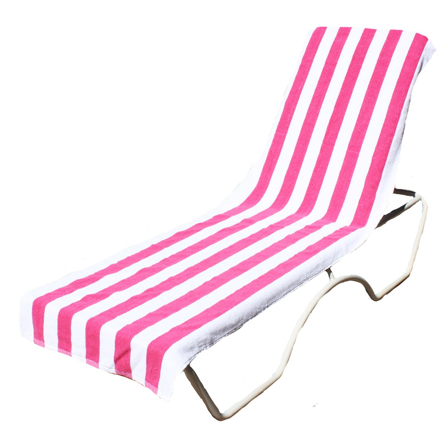 Amazon.com J u0026 M Home Fashions Lounge Chair Beach Towel With Fitted Pocket Top 26 by 82-Inch Pink Home u0026 Kitchen  sc 1 st  Amazon.com : chaise lounge towels fitted - Sectionals, Sofas & Couches