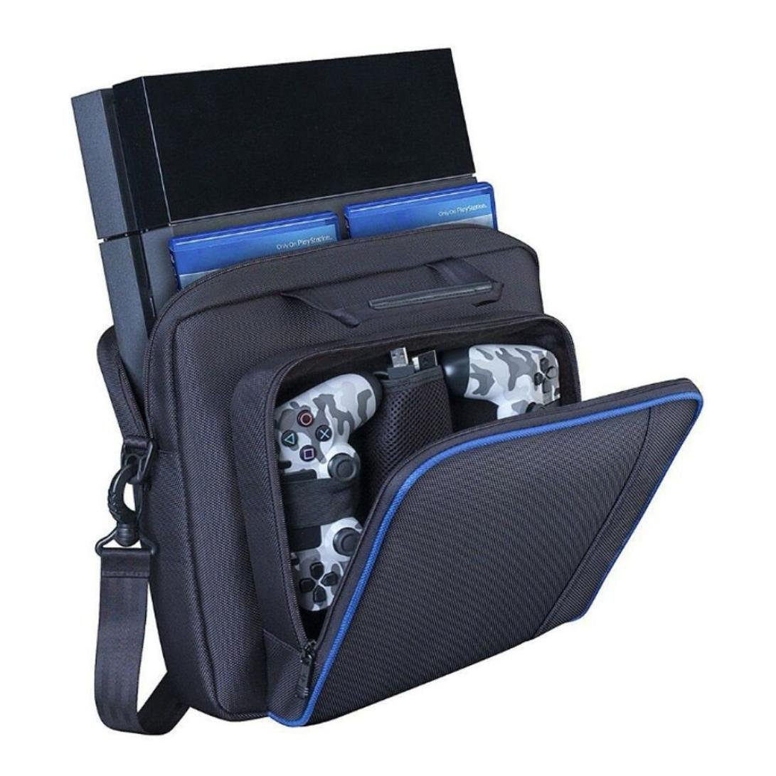 Dreamyth For PS4 Console Case Travel Protective Padded Carry Bag Shoulder Strap