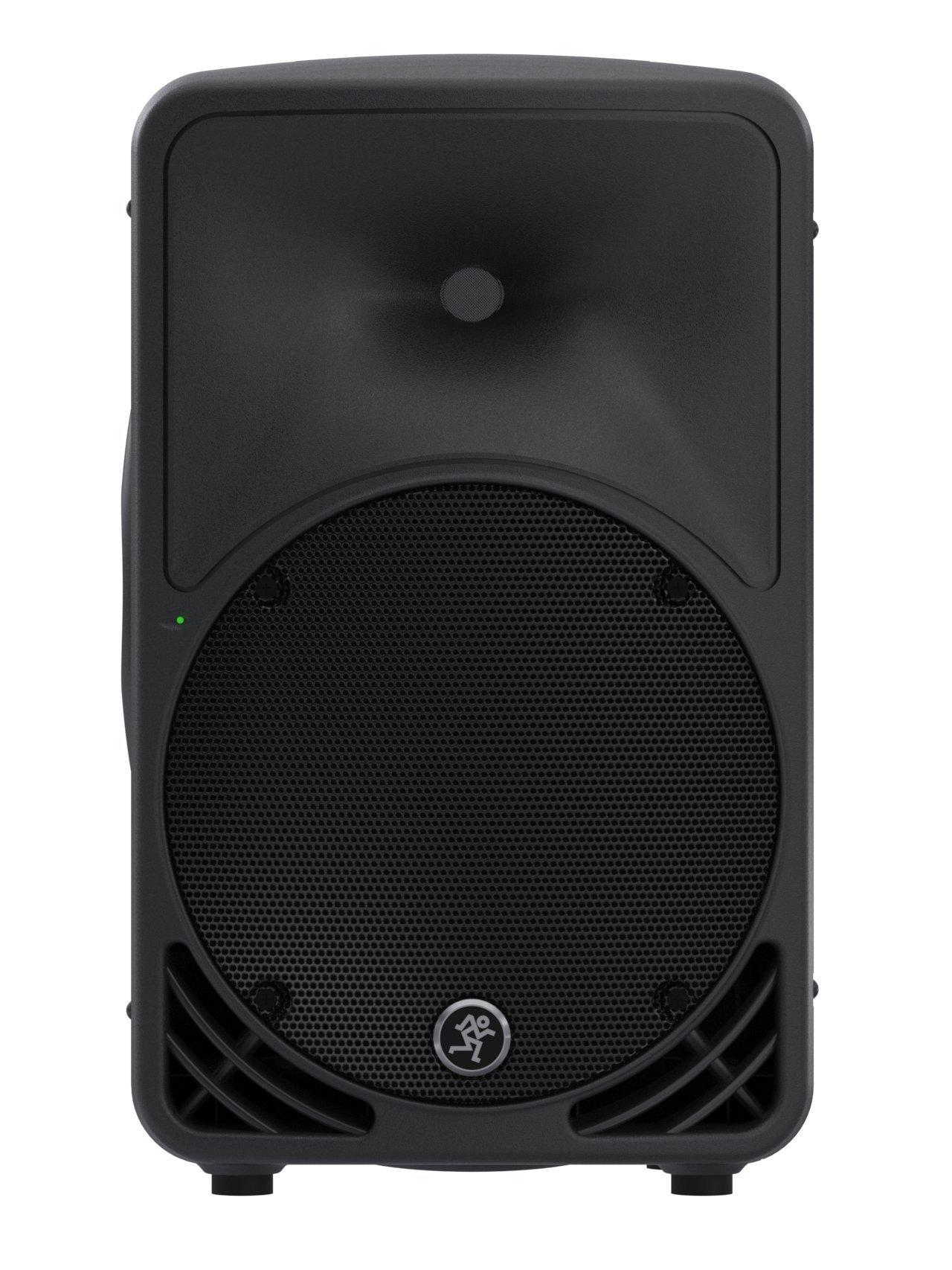 Mackie SRM350v3 1000 Watts 10'' High-Definition Portable Powered Loudspeaker, Black by Mackie