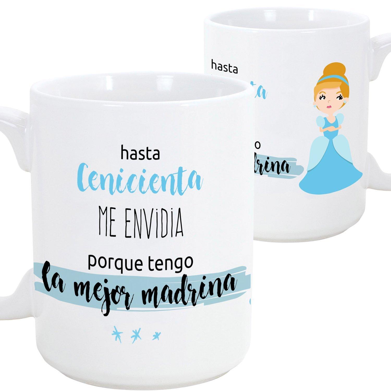 Detalles Party baby Taza Padrino: Amazon.es: Hogar