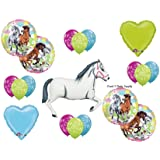 Charming Horses Cowgirl BIRTHDAY PARTY Balloons Decorations Supplies by Anagram