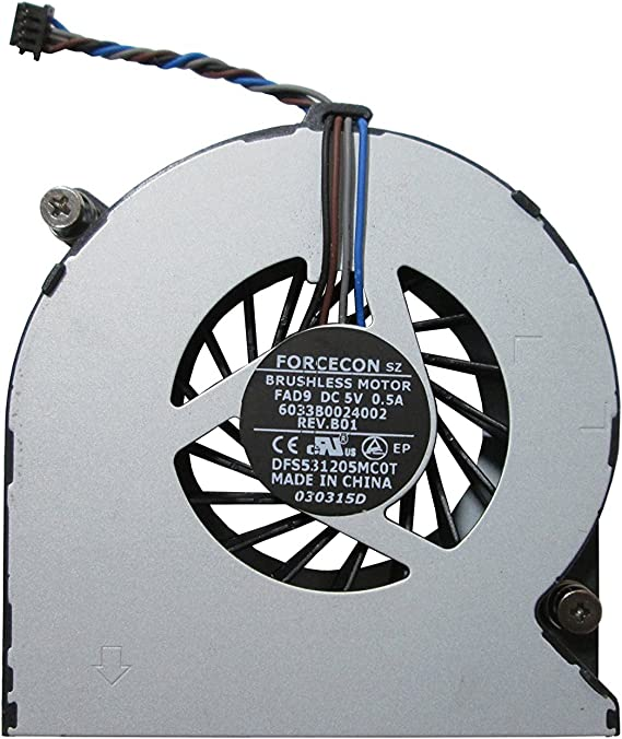 HP Probook 4530S Procesador del ordenador portátil ventilador ...
