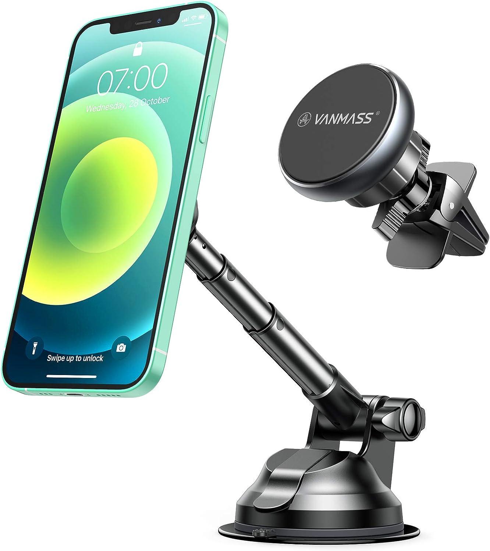 4. Best Telescopic Magnetic Phone Mount: Vanmass