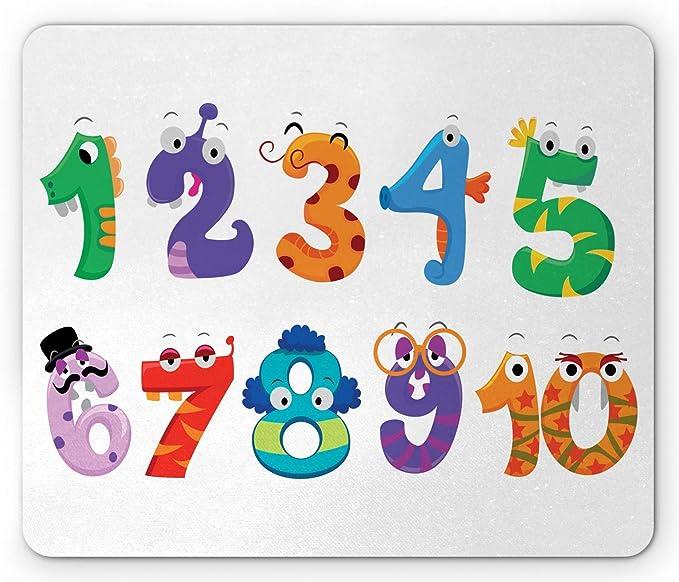 Alfombrilla de ratón numérica, Signos matemáticos como ...