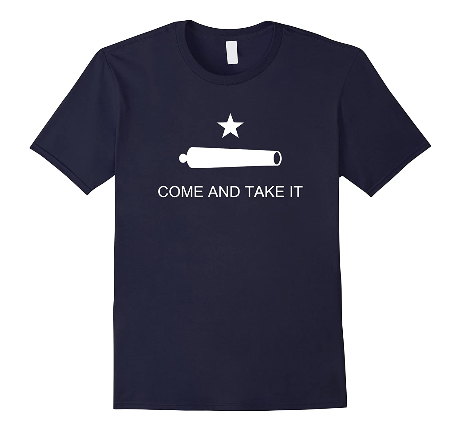 Come and Take It Flag Texas Molon Labe USA T-Shirt-FL