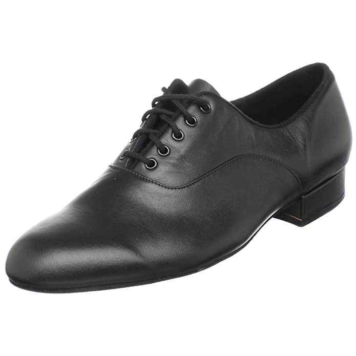 Men's 1950s Shoes Styles- Classics to Saddles to Rockabilly Bloch Mens Xavier Ballroom Dance Shoe $111.50 AT vintagedancer.com