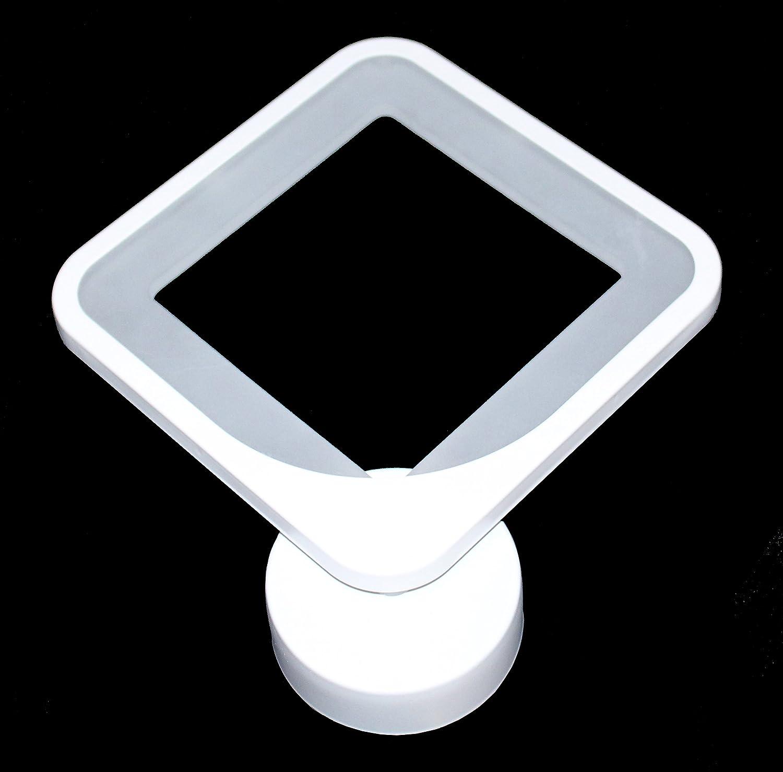 Citra Creative Modern Minimalist Aluminum LED Wall Lamp Bedside Hallway Bathroom Mirror Light Square shape,12W White