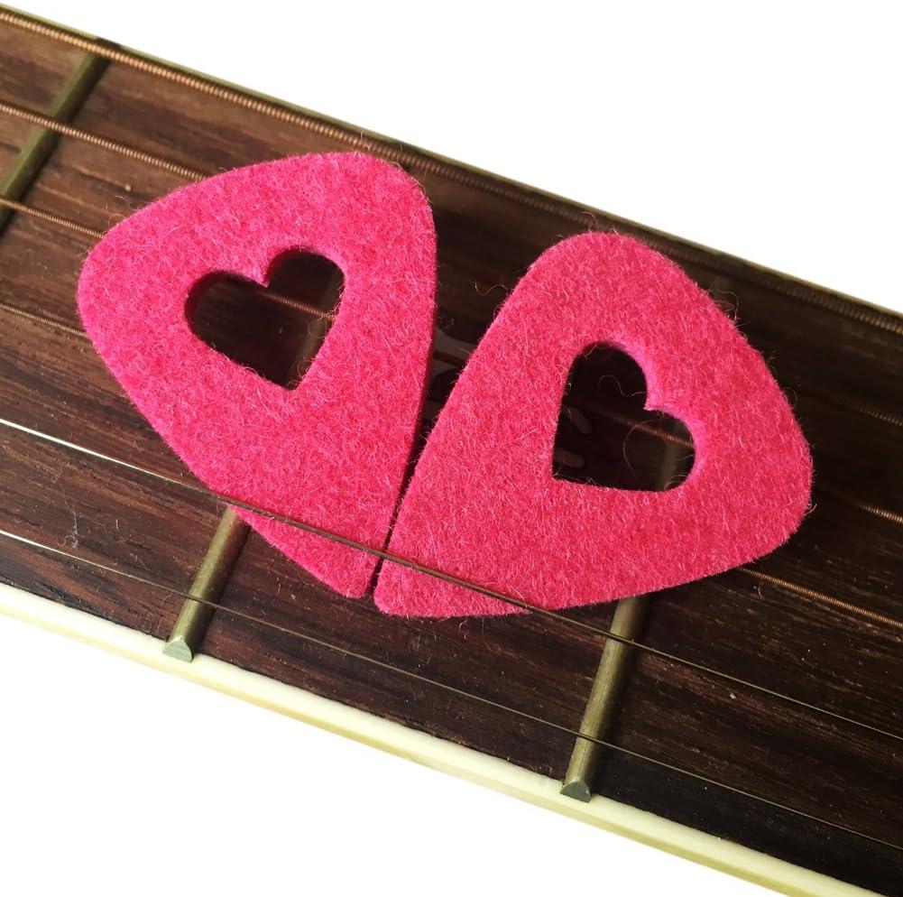MIBOW Ukulele Picks,Multi-color Felt Picks,Guitar Picks,For Guitar,Bass,Ukulele,Mandolin,Banjo,10 Pieces
