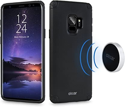 Samsung Galaxy S9 Tough Magnetic Case - Magnet Mounts Included for ...