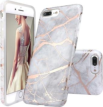 coque iphone 8 paillette rose