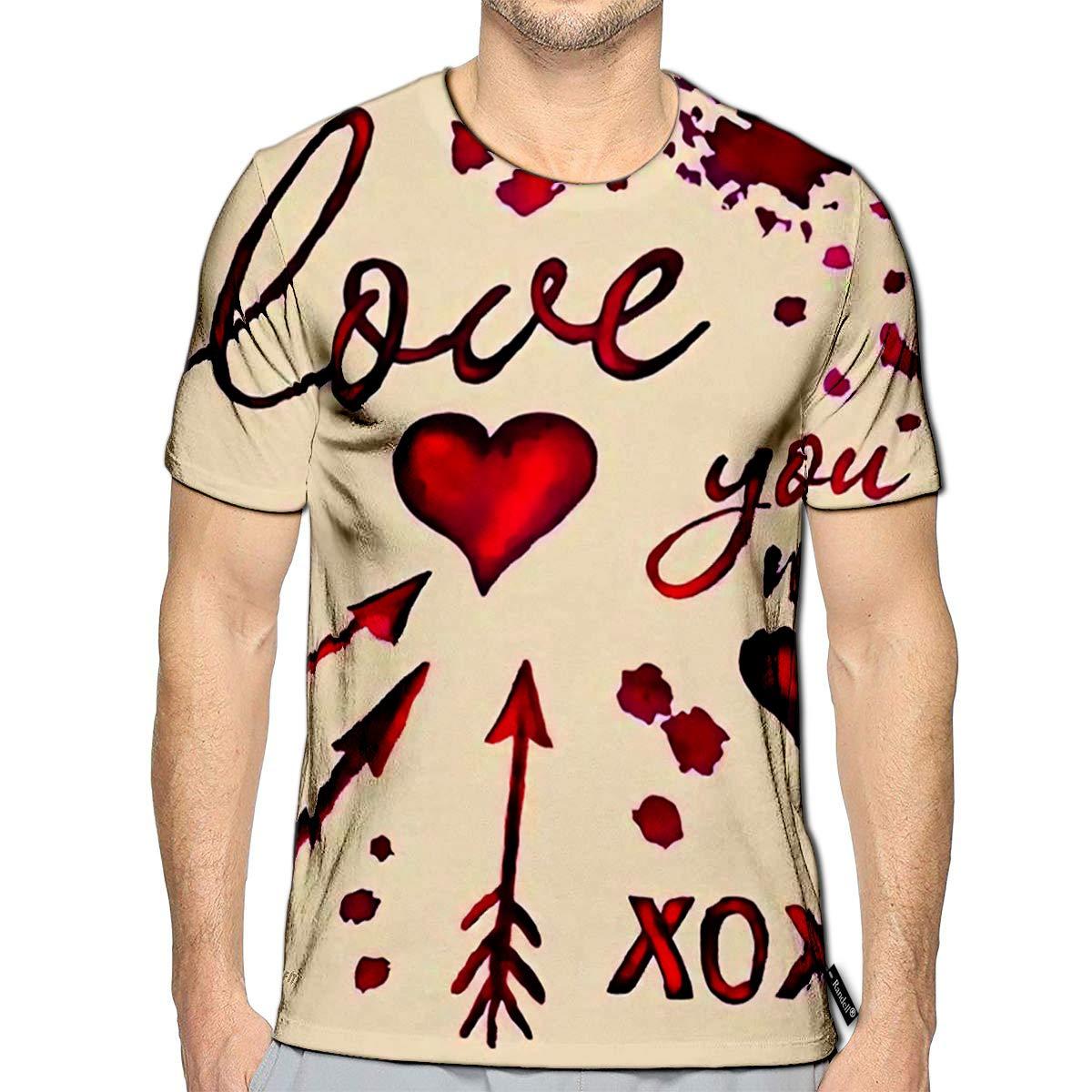 Randell 3D Printed T-Shirts Adventure Saying Kike More Worry Less Short Sleeve Tops Tees
