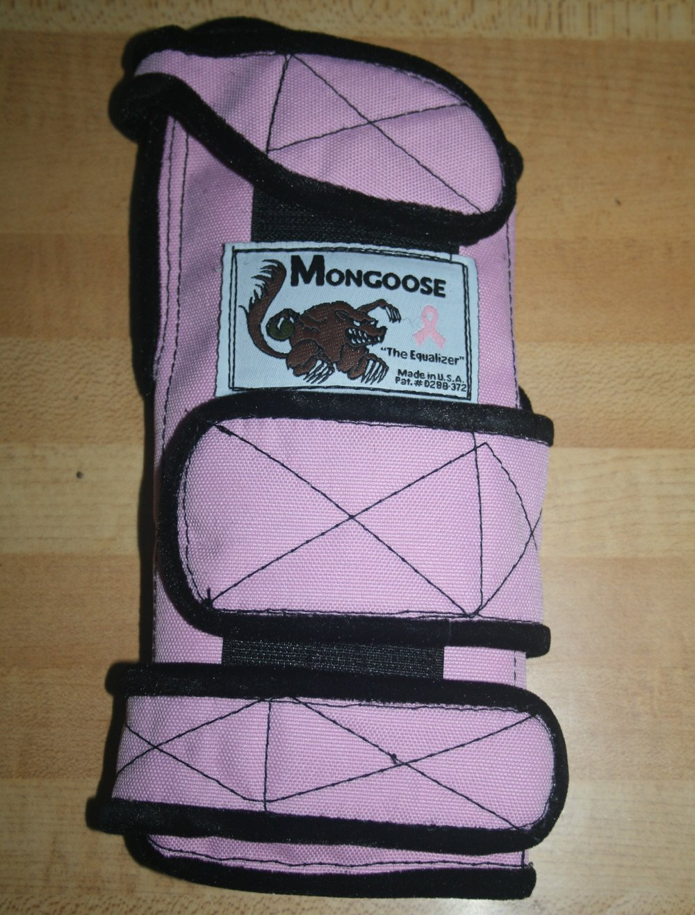 Mongoose ''Equalizer Bowling Wrist Support Right Hand, Medium, Pink