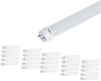 Led T8 T10 T12 Tube Light 4ft 25 Pack 15w 36w Equivalent